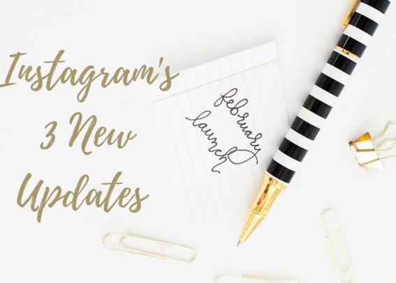 instagram updates header image