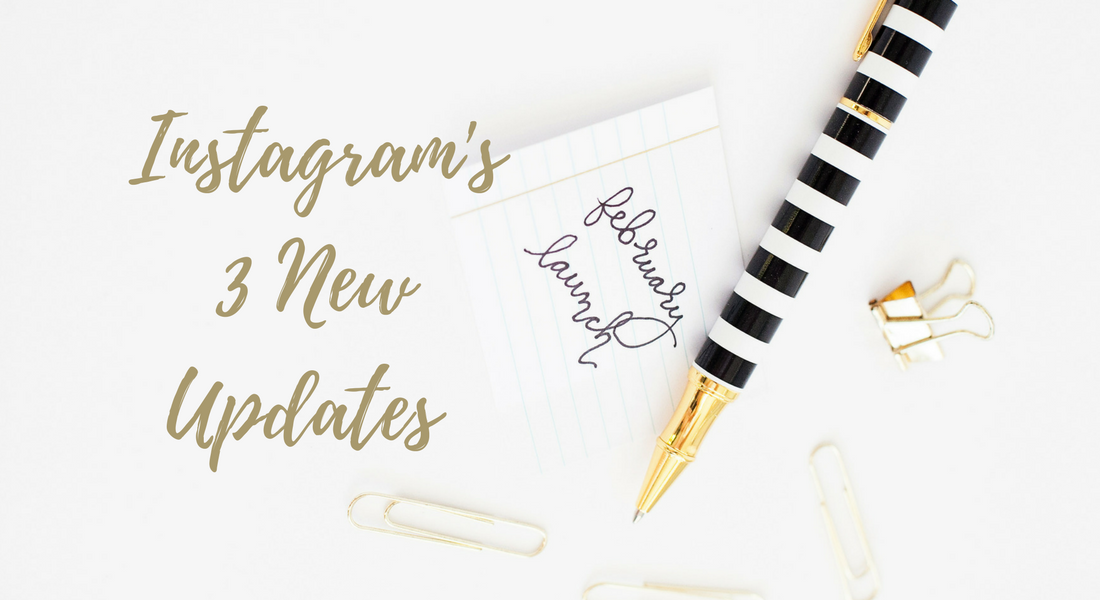 instagram updates header image