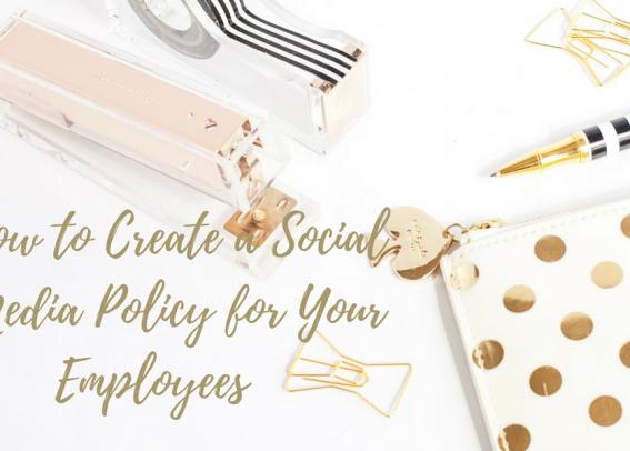 social media policy header image