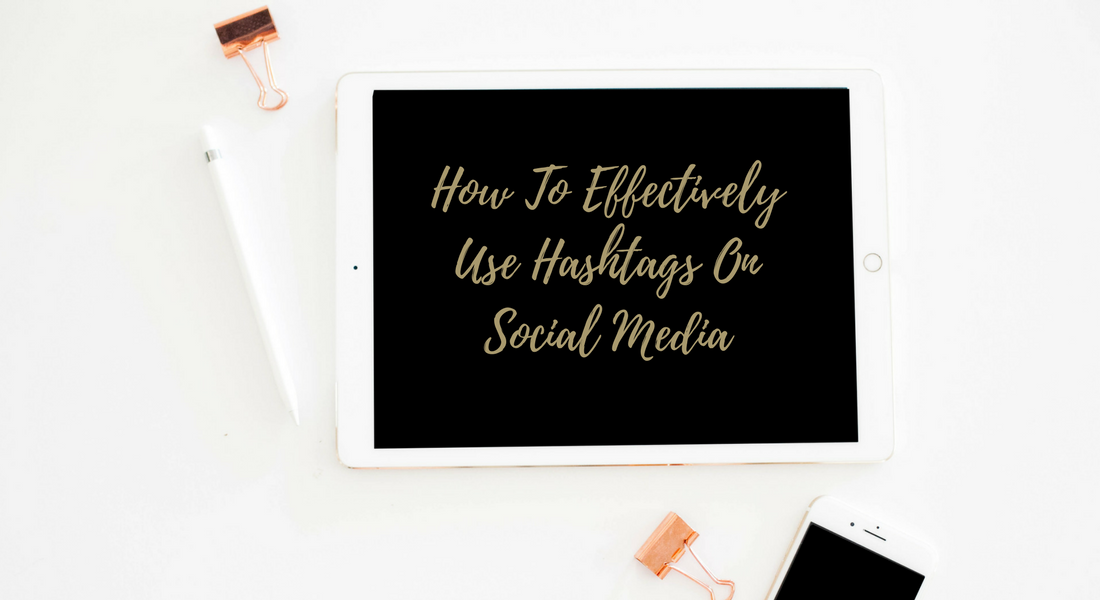how to use hashtags header image
