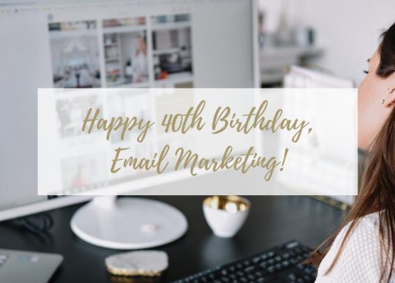 Happy birthday email marketing