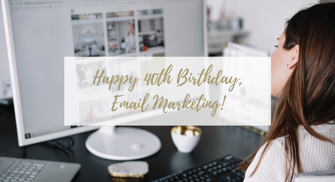 Happy birthday email marketing