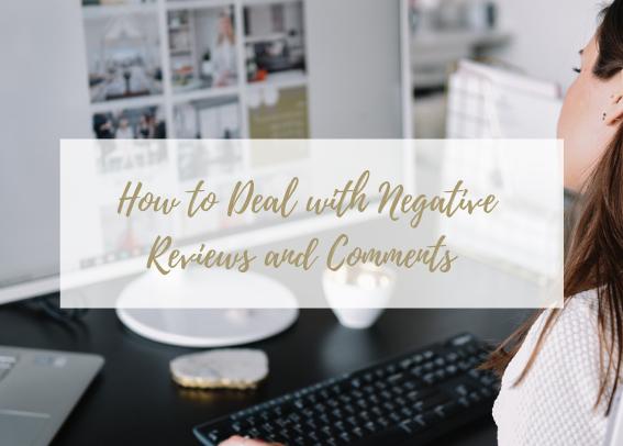 negative online reviews