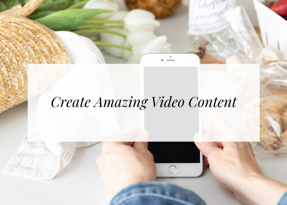 create amazing video content